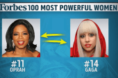 Forbes lists 100 most powerful women