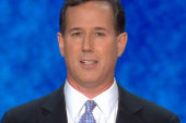 Santorum makes impassioned plea for former...