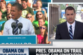 Obama hits back against Republicans in Tampa