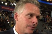 McAuliffe behind the scenes with Bill Clinton