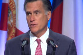 Frequent flier Romney abstains from...