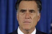 Romney tries to turn any situation into a...