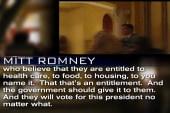Secret recording catches Romney's comments...