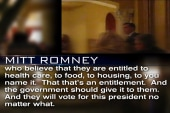 Romney's words about Obama supporters...