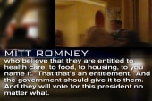 Secret video shows Romney in candor