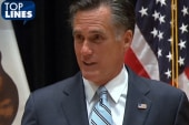 Top Lines: Romney, 47%, taxes, Snooki and...