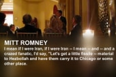Did Romney give advice to terrorists in...