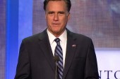 Romney speaks at Clinton Global Initiative