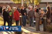Romney at disadvantage on first day of voting