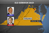 Romney, Obama shadow each other in Virginia
