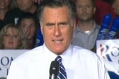 Mitt Romney under debate pressure