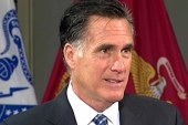 Romney master and commander-in-chief on...