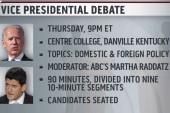 Biden, Ryan prep for debate showdown