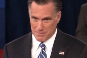 Romney in the second debate: the boss...
