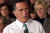 Romney disses 'binders full of women',...