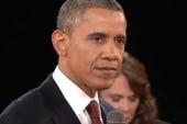 President Obama takes Romney off his game