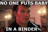 Nobody puts Baby in a binder