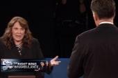 Right still blaming moderator for debate...