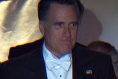 Romney speaks at Al Smith dinner