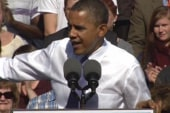Polls show Obama ahead in critical swing...