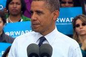 Obama diagnoses 'Romnesia'