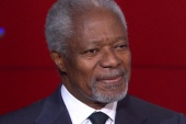 Kofi Annan talks with Rachel Maddow