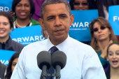 Obama diagnoses Romney with 'Romnesia'