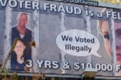 Clear Channel removes voter fraud billboards