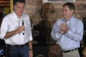Romney team fighting to candidate as moderate