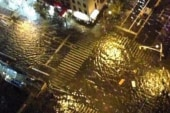 Many parts of Manhattan flooded, without...