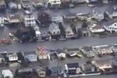 Sandy leaves billions of dollars in damage...