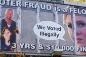 Major GOP donor behind voter intimidation...