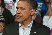 Obama's final campaign day