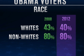 Exit poll: Race, gender important in 2012