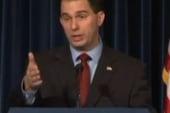 Walker tries different voter suppression...