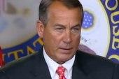 Boehner backed into a corner on debt deal
