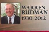 Bipartisan tribute to the late Sen. Warren...