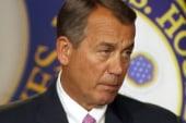 Boehner offers no budget deal, Christmas...