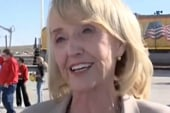 Gov. Brewer wags her finger at the...
