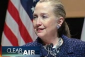 Bashir: Three cheers for Hillary Clinton