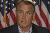 Boehner demands to negotiate with Obama alone