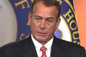 Can Boehner be bailed out?