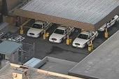 3 police officers taken to hospital after...