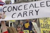 Far-right gun hysteria equates Obama with...