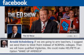 Ed Show viewers discuss guns in schools