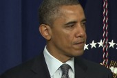 President Obama makes history on gun control