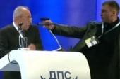 Gunman confronts Bulgarian politician