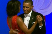 A first dance for Obama's second inaugural