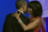President and first lady light up the...