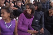 First daughters steal the spotlight